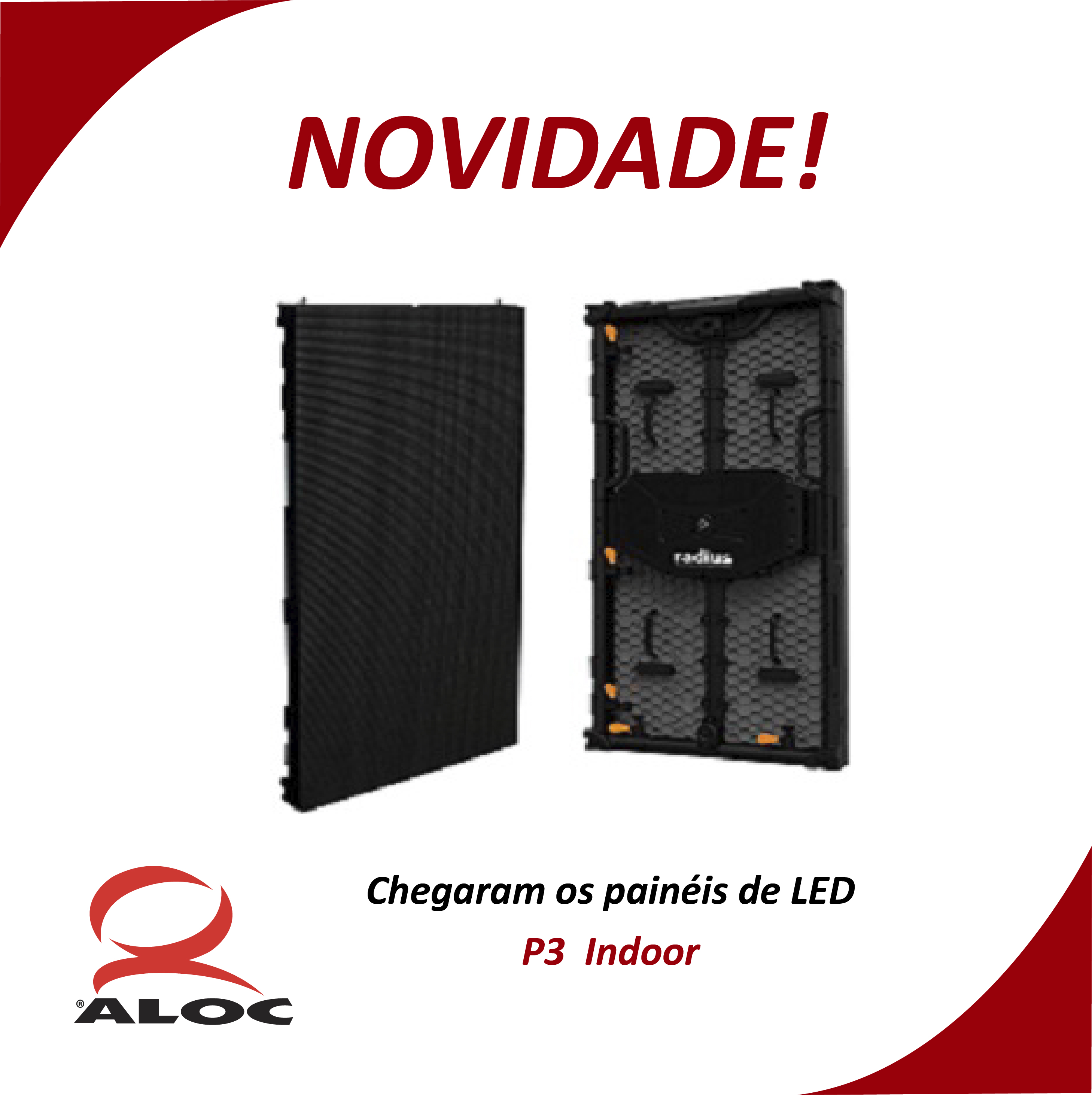 Painel de LED P3 Indoor